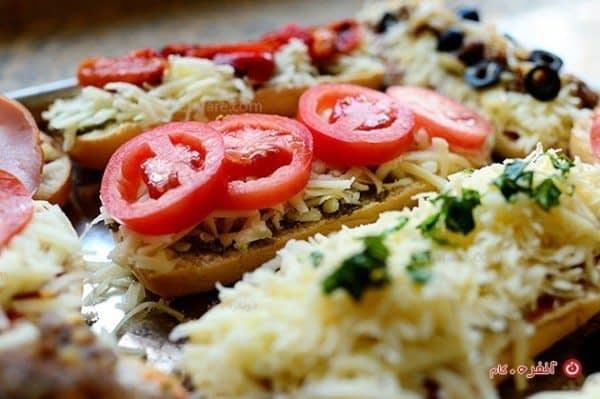 طرز تهیه پیتزا با گوجه فرنگی