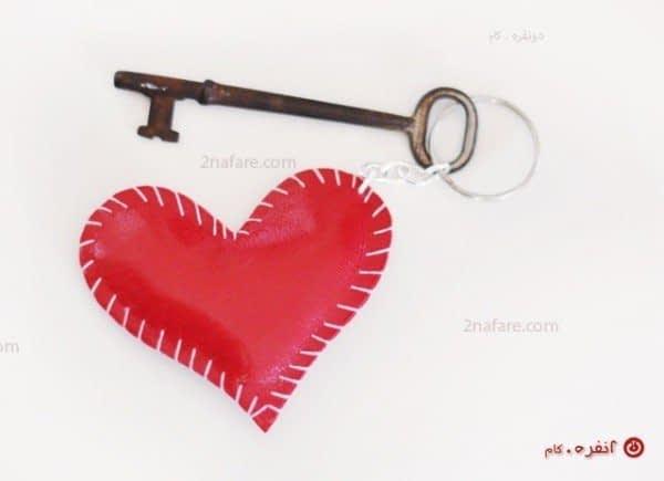 قلب قرمز زیبا برای جاسوئیچی