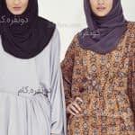 مدل مانتو های جدید و زیبای بلند و با حجاب