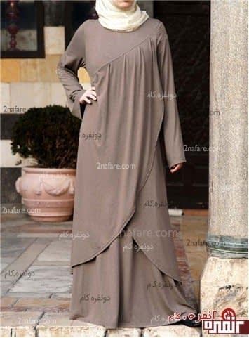 مدل جدید و زیبای مانتو بلند و اسلامی