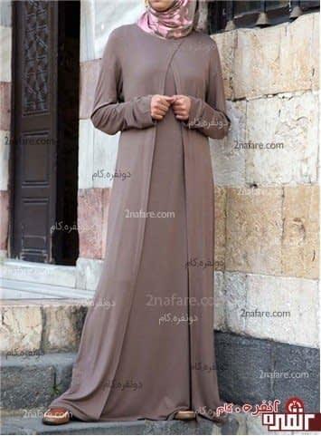 مدل مانتو با حجاب و زیبا