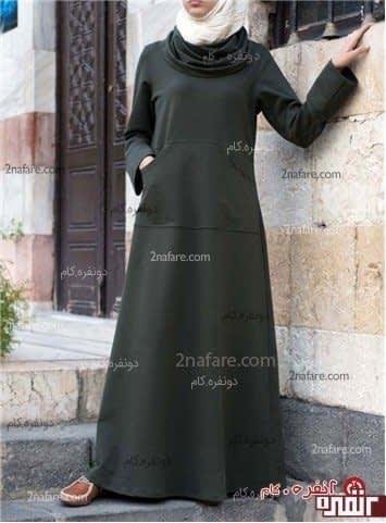 مدل مانتو جدید و زیبای اسلامی
