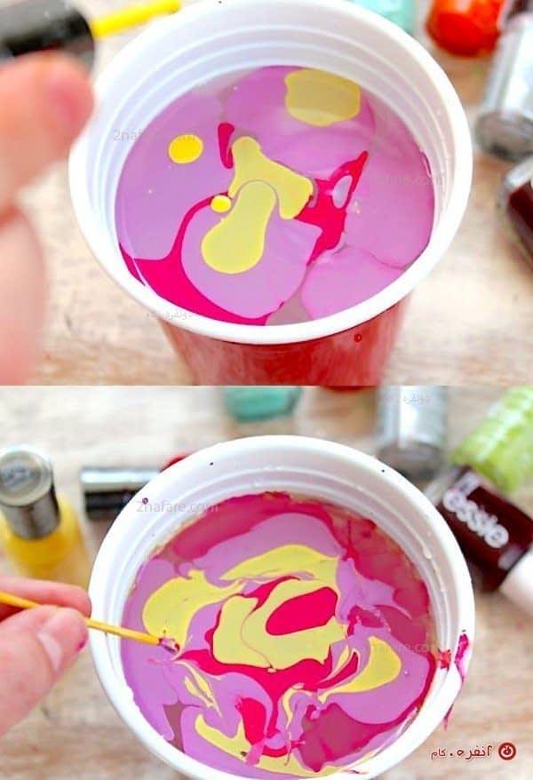 آموزش رنگ کردن تخم مرغ نوروز