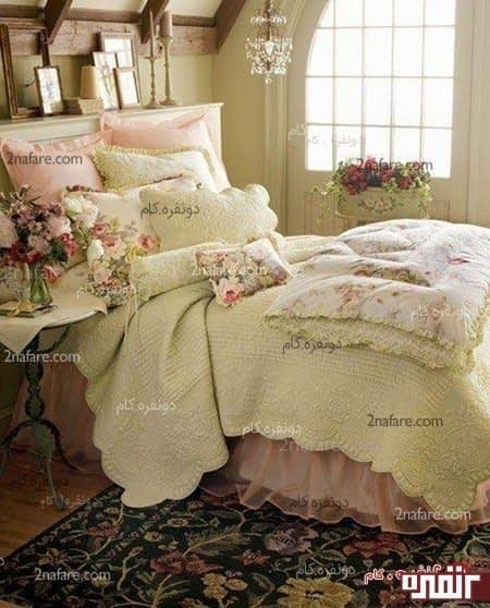 اتاق خواب رویایی و زیبا