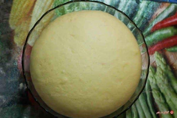 استراحت خمیر نان و دوبرابر شدن حجم خمیر