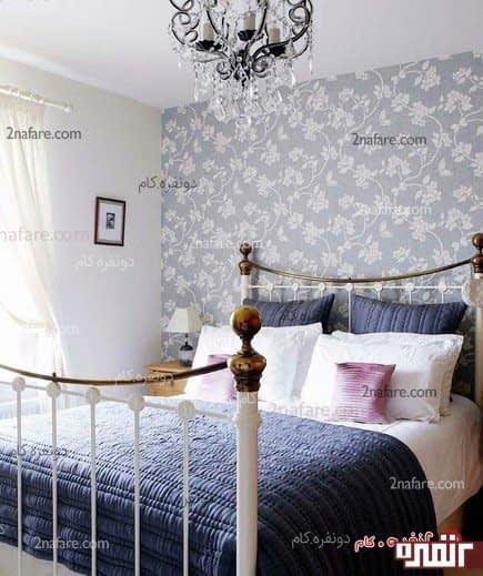 دیوار در اتاق خواب
