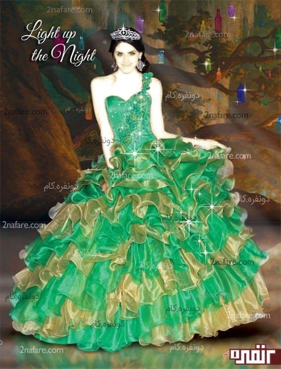 لباس عروس حنابندون