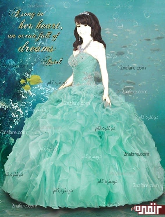 لباس عروس شب حنابندان