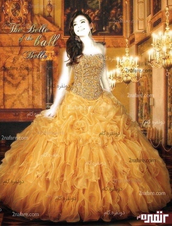 لباس عروس شب حنابندون