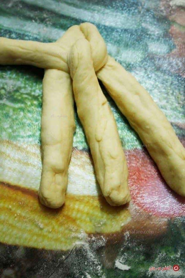 نان به شکل گیس