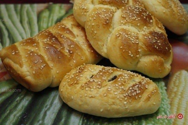 نان خوشمزه و سبک برای عصرانه