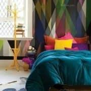 اتاق خواب زیبا و رویایی در دکوراسیون داخلی