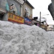 برف در خیابان