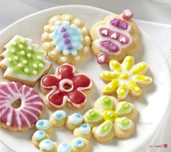 تزیین شیرینی عید با رویال آیسینگ