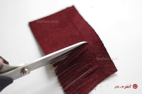 درست کردن منگوله برای تزیین کیف دستی