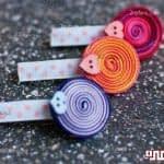 آموزش ساخت سنجاق روبانی برای بچه ها
