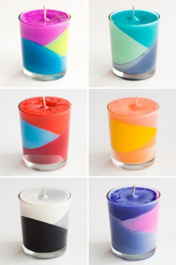 شمع سازی در خانه