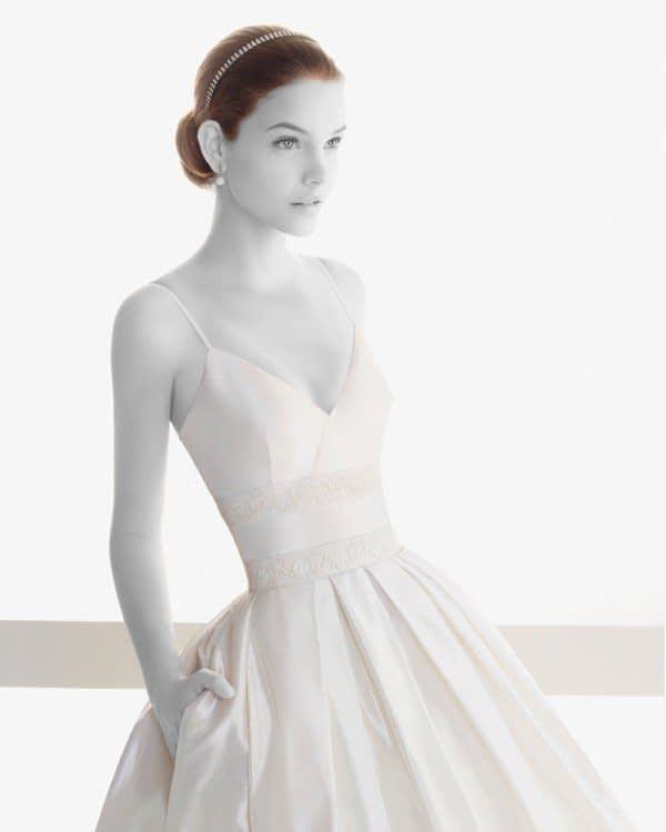 لباس عروس با کت آستین بلند