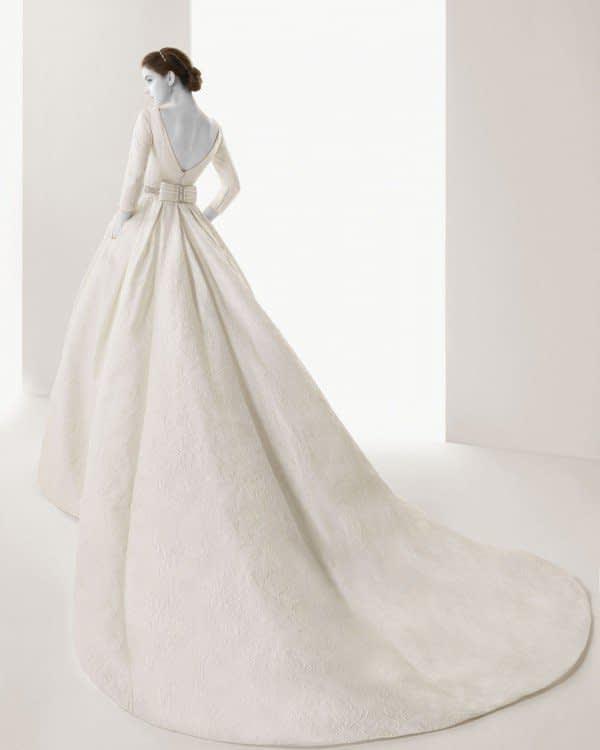 لباس عروس آستین بلند