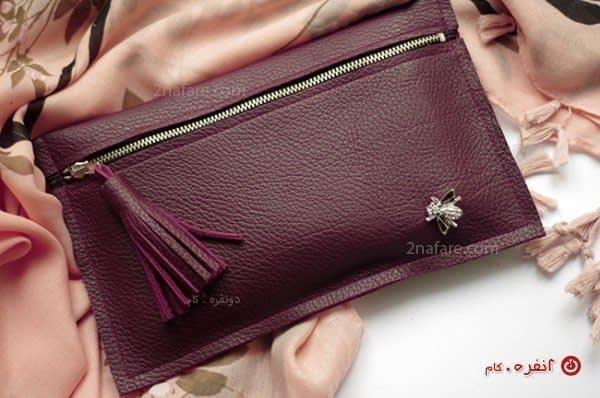 کیف چرم دستی زیبا