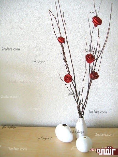گل کاغذی ساده