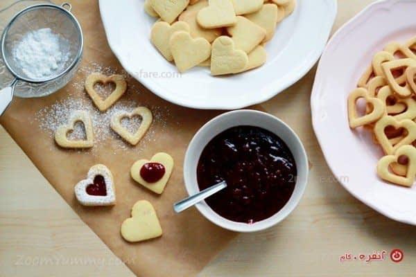 طرز تهیه شیرینی مربایی
