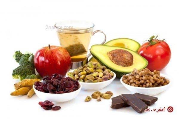غذای سرشار از آنتی اکسیدان