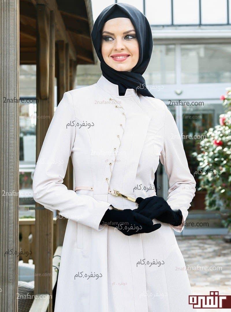 مانتو های شیک زیبا در اصفهان مانتو مجلسی بلند و شیک و زیبا • دونفره