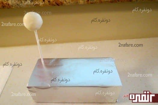 تزیین کیک تولد به شکل آبنبات