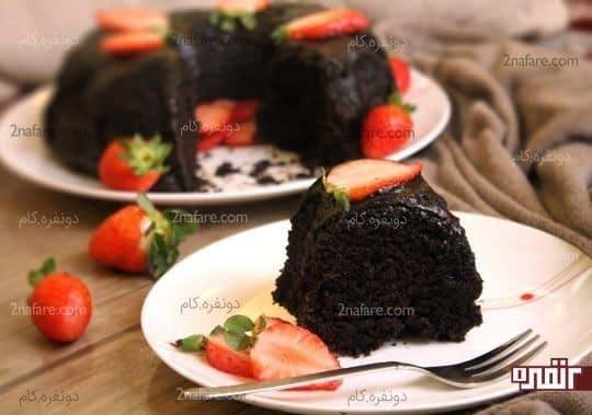 بافت کیک