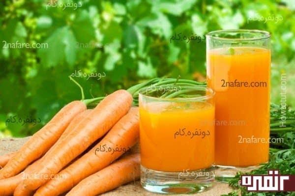 تاثیر هویج در سلامتی