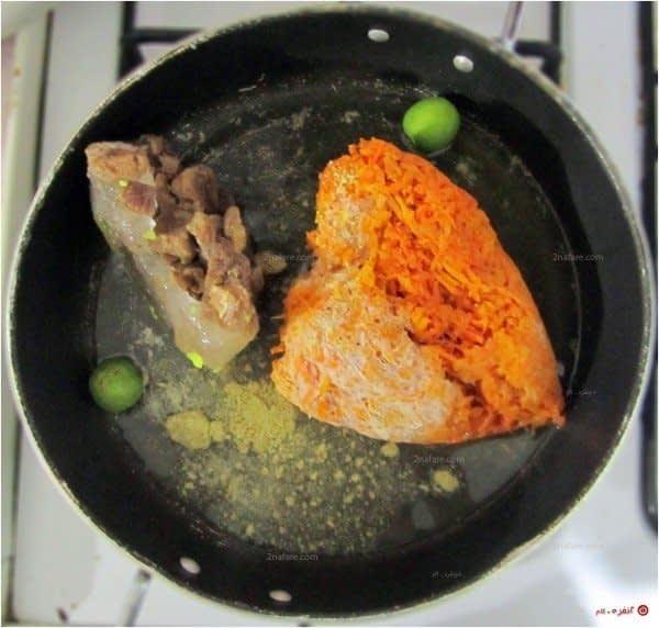 خورشت-هویج-- مواد اولیه