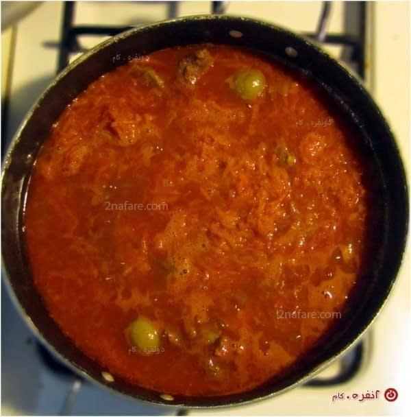 خورشت-هویج---پختن-ملایم