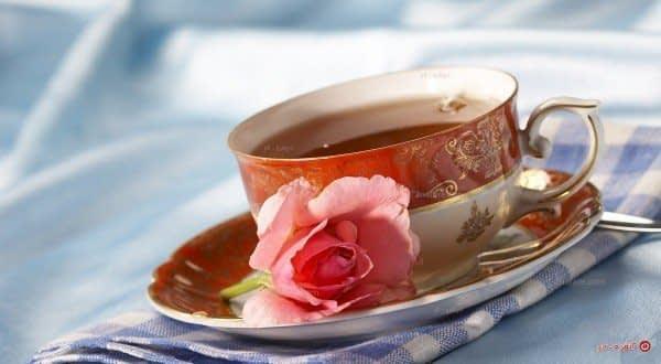 دفع سموم بدن با چای گل رز
