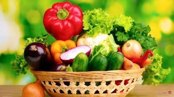 سبد سبزیجات