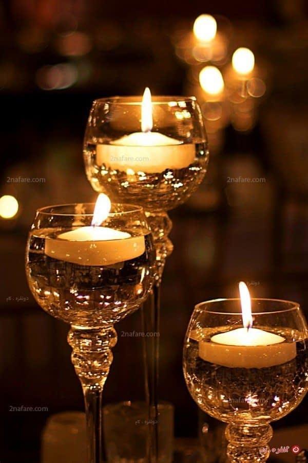 شمع زیبا