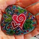هنر نقاشی روی سنگ