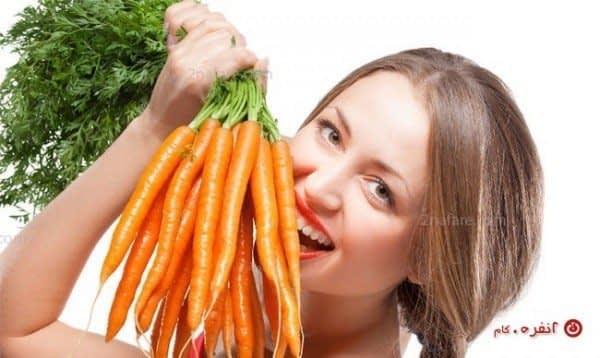 هویج و سلامتی