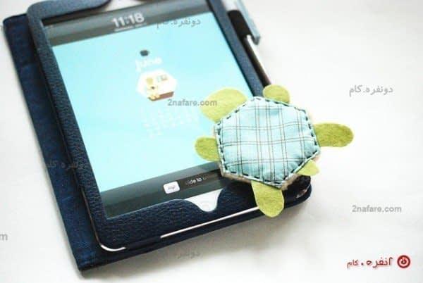 آموزش دوخت دستمال لاکپشتی
