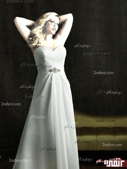 انتخاب لباس عروس برای تپل ها