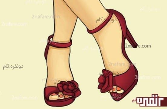 انتخاب کفش پاشنه بلند بدون درد و دردسر