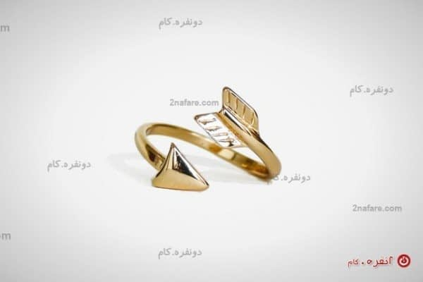 انگشتر فلش طلایی