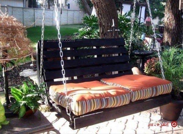 تاب رویایی ایده ای زیبا برای باغ یا باغچه