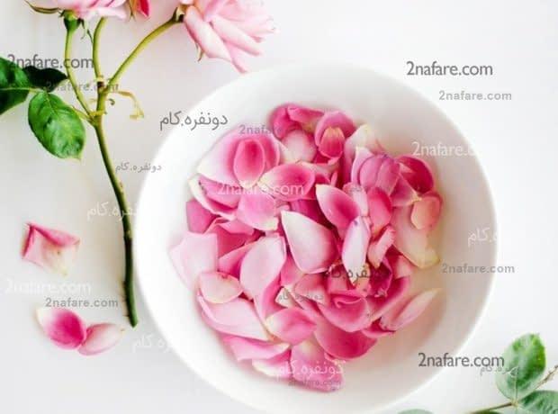 خواص گلاب برای زیبایی