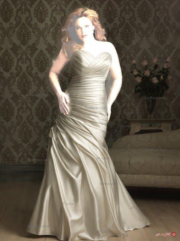 لباس عروس تپل