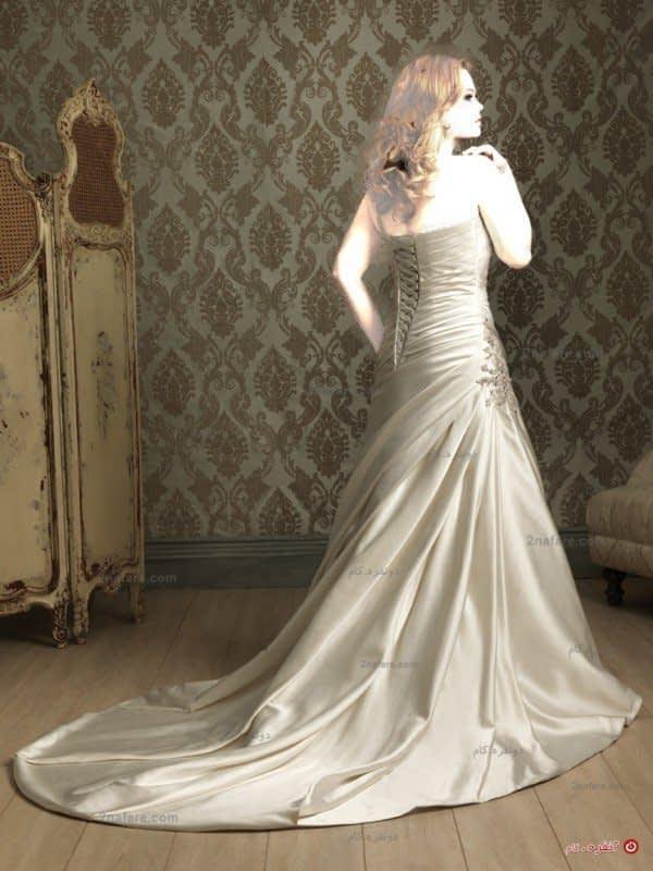 لباس عروس زیبا و تپل