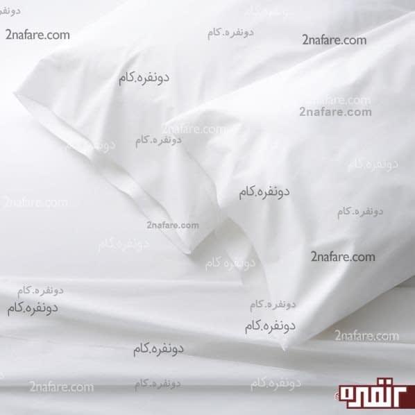 ملحفه های سپید