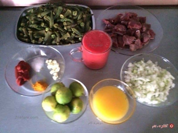 مواد لازم برای تهیه خورشت