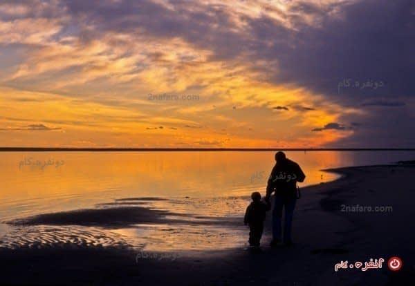 پیاده روی لب ساحل