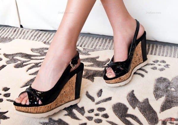 کفش لژدار مجلسی - سیاه
